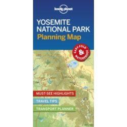 Yosemite Nemzeti park térkép Lonely Planet 2019