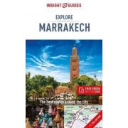 Marrakesh útikönyv Explore Marrakech Guide Insight Guides 2019 angol