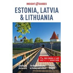Estonia, Latvia & Lithuania Észtország Lettország Litvánia útikönyv DK Eyewitness Guide, angol 2019