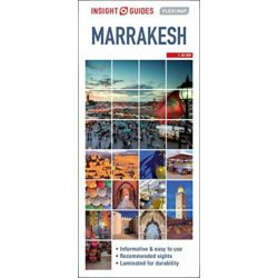 Marrakesh térkép Insight Map  1:15 000 2020