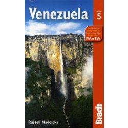 Venezuela útikönyv Bradt angol 2010