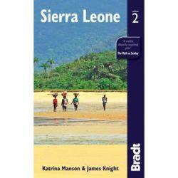 Sierra Leone útikönyv Bradt 2012 - angol