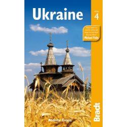 Ukrajna útikönyv Ukraine Bradt 2013 - angol