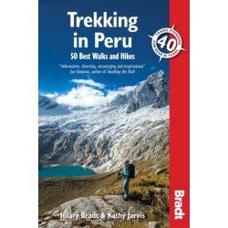 Peru útikönyv Bradt 2014 - Trekking in Peru : 50 Best Walks and Hikes - angol