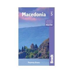 Makedónia Macedonia útikönyv Bradt 2015 - angol