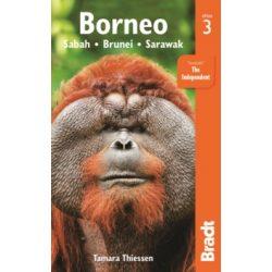 Borneo útikönyv Bradt 2016 - angol, Borneo : Sabah Sarawak Brunei