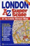 London térkép Super Scale  AZ  2011