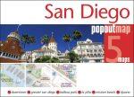 San Diego térkép Popout Map