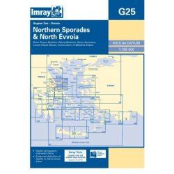 Imray Chart G25 : N Sporades and Nisos Evvoia
