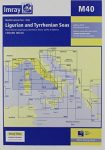 Imray Chart M40 : Ligurian and Tyrrhenian Sea