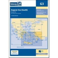 Imray Chart G3 : Aegean Sea (South)