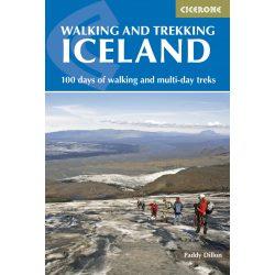 Izland útikönyv Walking and Trekking in Iceland Cicerone Walking Guides 2015