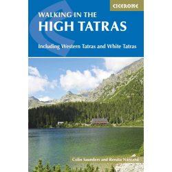 Tátra útikönyv The High Tatras : Slovakia and Poland Cicerone Guide, angol 2017