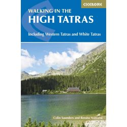 Tátra útikönyv The High Tatras : Slovakia and Poland Cicerone Guide, angol 2017