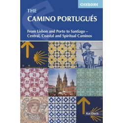 Camino Portugues : From Lisbon and Porto to Santiago - Central, Coastal and Spiritual caminos Cicerone Press angol Camino könyv 2018 John Brierley