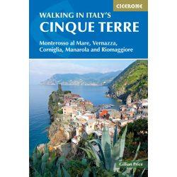 Cinque Terre útikönyv, Italy's Cinque Terre Guide Walking in Italy's Cinque Terre Cicerone Press 2019 angol