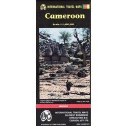 Cameroun térkép ITM 1:1 480 000 Cameroon térkép