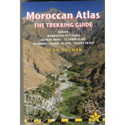 Marokkó Atlasz-hegység Moroccan Atlas - The Trekking Guide : Includes Marrakech City Guide Trailblazer 2014 angol
