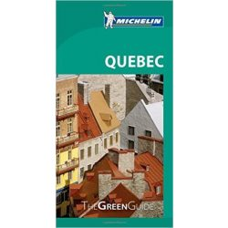 Quebec útikönyv angol Green Guide  1573.