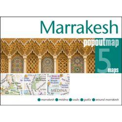Marrakesh térkép PopOut 2019