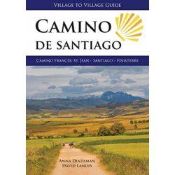 Camino de Santiago : Camino Frances: St. Jean - Santiago - Finisterre 2018 angol Camino könyv