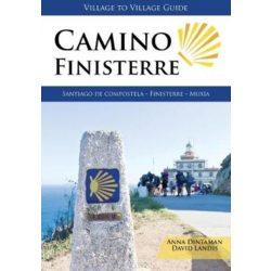 Camino Finisterre 2018 angol Camino könyv, térképek