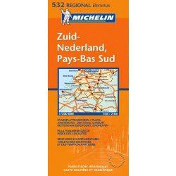 532. Pays-Bas Sud térkép Michelin 1:200 000