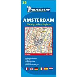 36. Amszterdam térkép Michelin 1:12 500