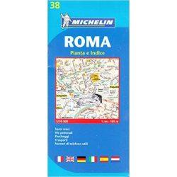38. Róma térkép Michelin 2015 1:10 500
