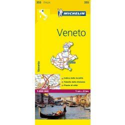 355. Veneto térkép Michelin 1:200 000
