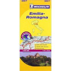 357. Emilia térkép Michelin 1:200 000  2014