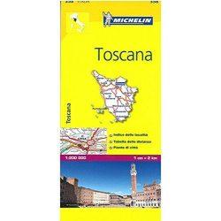 358. Toscana térkép Michelin 1:200 000  2016