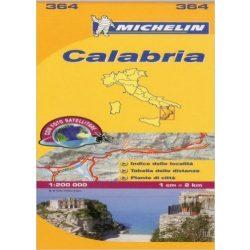 Calabria térkép  0364. 1/200,000