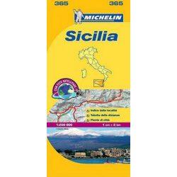 365. Szicília térkép Michelin 2017 1:220 000