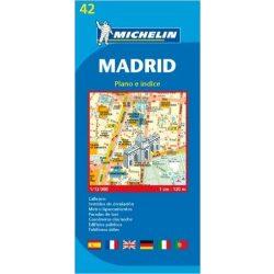 42. Madrid térkép Michelin  1:12 000