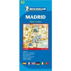 42. Madrid térkép Michelin  1:12 000  2012