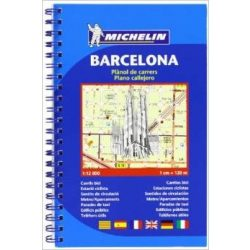 40. Barcelona plan  térkép (spiral)  2040. 1/12,000