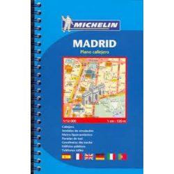 Madrid atlasz Michelin 1:12 000 Madrid térkép