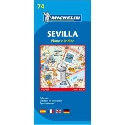 74. Sevilla térkép Michelin 1:10 000