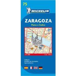 75. Zaragoza térkép Michelin 1:11 000