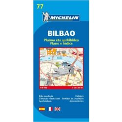 77. Bilbao térkép Michelin 2014 1:9 000