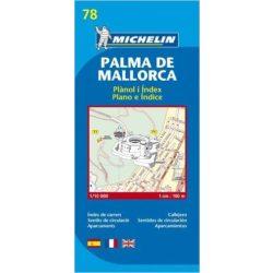 78. Palma de Mallorca térkép Michelin 1:10 000