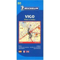 80. Vigo térkép Michelin 1:8 000