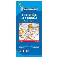 La Coruna plan térkép  9082. 1/11,000