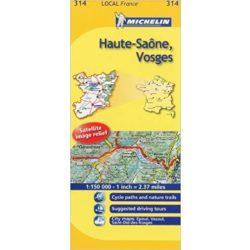 Haute-Saone / Vosges térkép  0314. 1/150,000