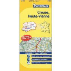 Creuse / Haute-Vienne térkép  0325. 1/150,000