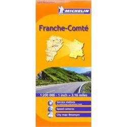 520. France-Comté térkép Michelin 1:250 000