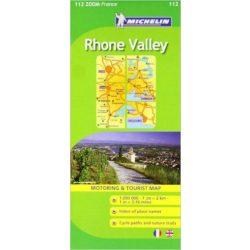 112. Vallée du Rhone térkép Michelin 1:200 000