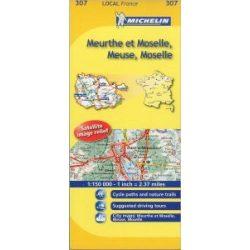 Meuse / Meurthe-et-Moselle térkép  0307. 1/175,000