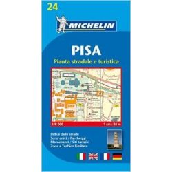 24. Pisa térkép Michelin 1:8 000